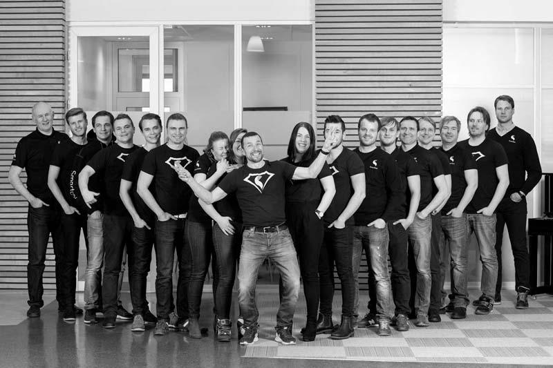 SmartDok ansatte
