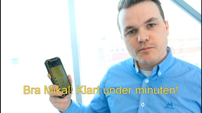 Klarar Mikal att förklara vår nya startmeny på under 60 sekunder?