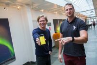 Adam Josefsson och CEO Steffen Nerdal