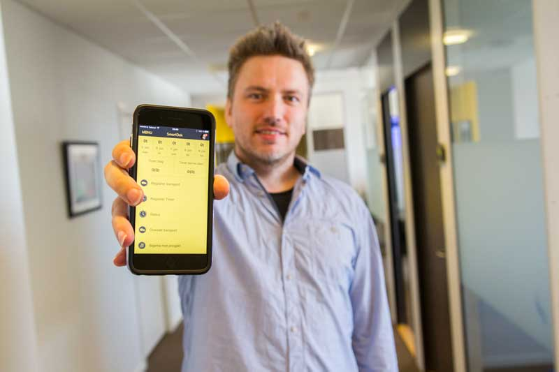 Utvecklare i SmartDok Frode Spein