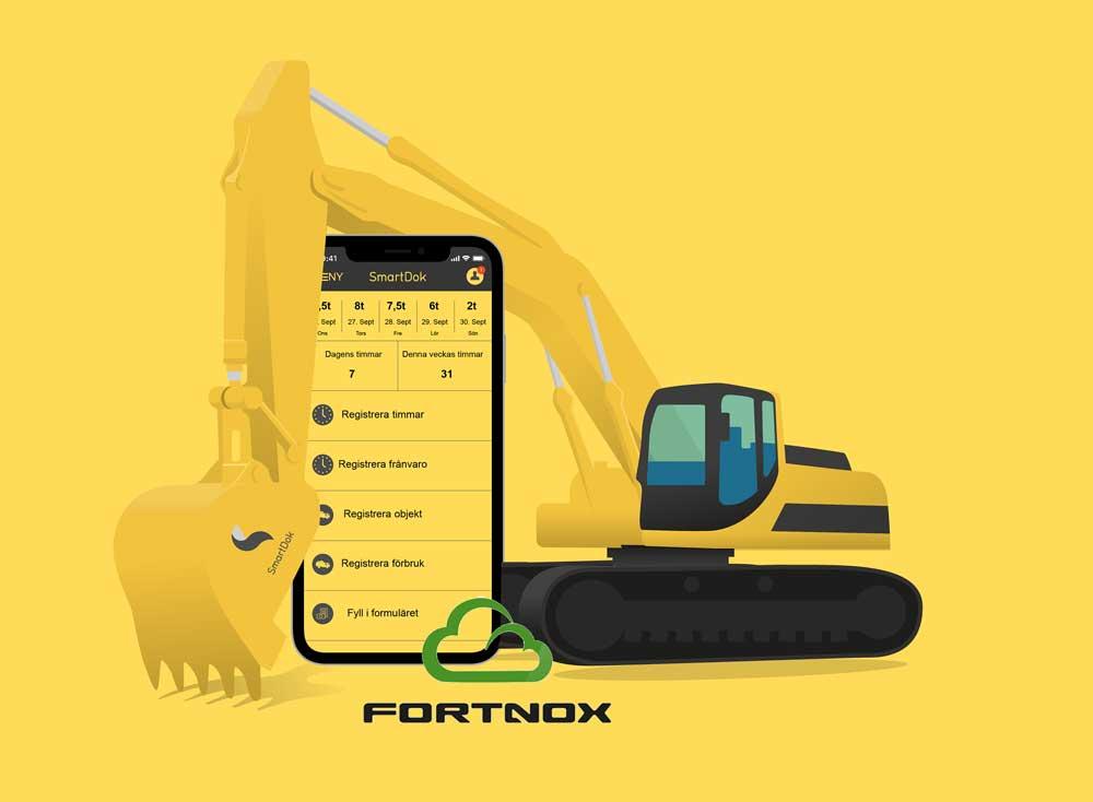 fortnox smartdok logo
