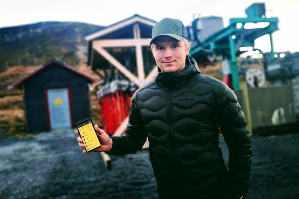 Verksamhetsansvarige Jesper Kræmer Kufaas är överbevisad om att SmartDok hjälper honom och hans anställda med att säkerställa att säkerheten på anläggningen är på topp.