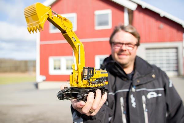 När VG Maskin drar igång med fornminne-grävningar för Akershus kommun har de tagit i bruk ett branschanpassat rapporteringssystem. Tidrapportering, checklistor, masstransport och maskintimmar registreras nu digitalt via en app.