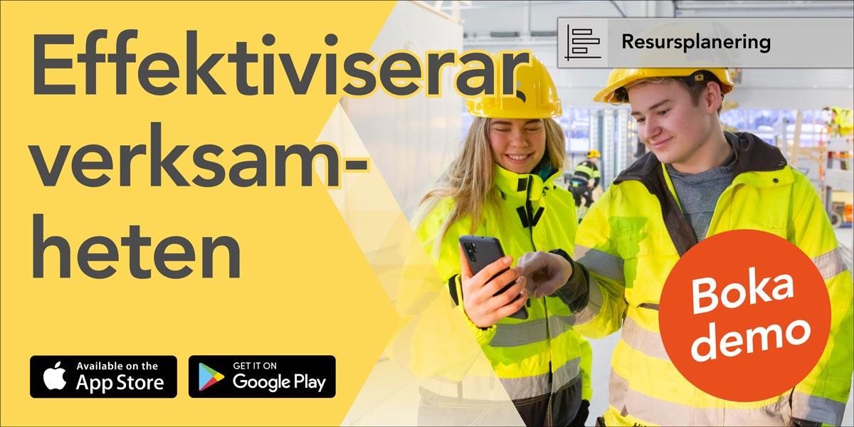 EFFEKTIVISERAR VERKSAMHETEN - be om demo