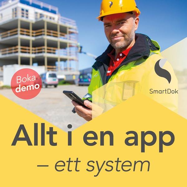 ENTREPRENÖRENS SYSTEM FÖR TID & PROJEKT - SmartDok