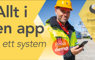 Vi hjälper dig att komma igång med branschens mest använda digitala rapporteringssystem. Det är enkelt att köra igång och att byta till.
